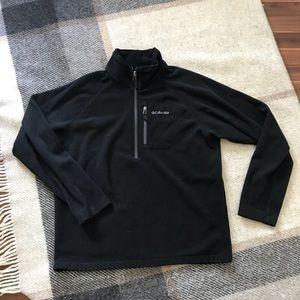 Columbia fleece half-zip jacket